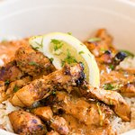 Chicken with Tikka Masala and Basmati Rice
