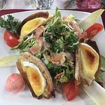 salade au menu