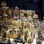 indische Palastszene (Gold und Edelsteine)