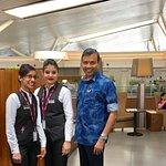 With Poonam and Nirmala Devi