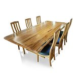 Dining suite in Marri timber