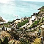 The wonderful setting of The Minack Theatre
