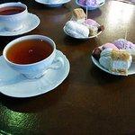 чай с пастилой