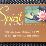 Spirit of Thai resmi