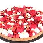 tarte aux fraises et vanille de tahiti, grands gateaux sur commande