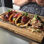 house taco selection