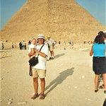 Khafre's Pyramid - Giza, Cairo, Egypt