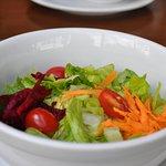 entrada: salada