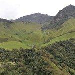 Paisaje en la vereda El Bosque / El Bosque landscape