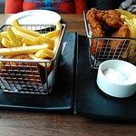 Yummy fish & chips at British Brewing Company