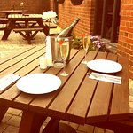 Alfresco dining now available at #Mezze