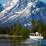 Cruise to the base of the Tetons.