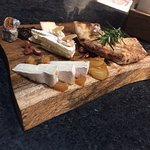 Cheese board at Pizza 4P's