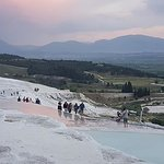 Pamukkale travetine terraces