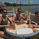 Karen, Me and Joey having a great lunch before Pelican Bar.