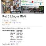 Google szerinti nyitvatartas