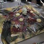 """Alinea's famous dessert """"Paint"""", best dish out of the menu"""