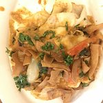 Thai Curry Crepe with Chicken