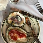 Raw oysters were awesome and the pan seared scallops..... oh my goodness Soooooo good!!!!   Yes