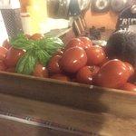 Basic for Italian cousins ..tomato and basil
