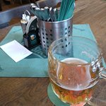 U Veverky (1) - enkoying a professionally maintained draught beer: Pilsner Urquel