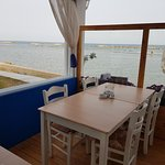 sea view from tables