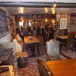 view down the dining area of the pub