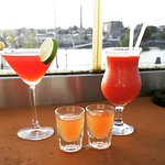 Divine Cocktails with a glorious view!