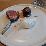 Dish 2 of the Salt Aged Lamb