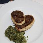 carne enrollada en pasta filo