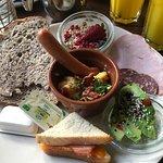Fra brunchbuffet hos Café Korn