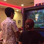 """Jogos eletrônicos """"clássicos"""" à disposição dos clientes pequenos e grandes."""