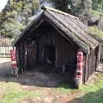 Maori Dorf Foto