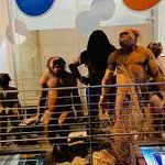 early hominid replicas
