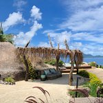 Panoramic ocean view on 12 islands