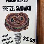 Pretzel Sandwich - lots of choices