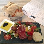 Beautifully presented and Delicious AnitPasti Board!