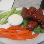 Six Piece Chicken Wing, Carrot, Celery Lunch - Fentons