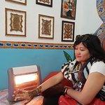 Drying henna