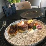 Main course - Beef steak