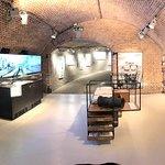 Interior of the Bezoekerscentrum Vesting Muiden