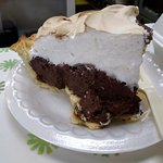 Incredible chocolate pie