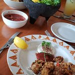 Perfectly fried oysters