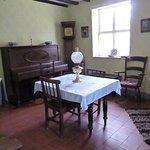 Inside the Baliff's house.
