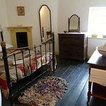 A Victorian bedroom.