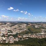 Fotos da cidade tiradas aos pés do Cristo redentor