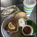 Yellowfin Tuna Sandwich & Potato Salad