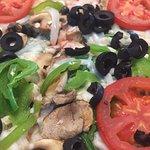 Vegan Veg-Out Pizza