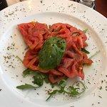 Excellent tomato salad