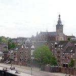 Stevenskerk seen from the train